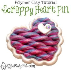 Scrappy Sweater Heart Tutorial by KatersAcres
