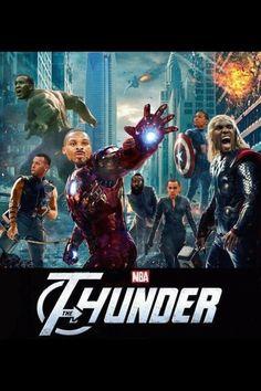 OKC Thunder Avengers! :)