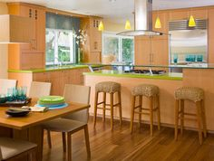 Kitchen Photos Lime Green Countertop Design, Pictures, Remodel, Decor and Ideas