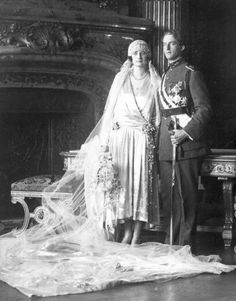 Art Deco Chic Vintage Brides - Princess Astrid of Sweden
