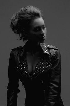 model, fashion, biker jackets, street style, motorcycle jackets, leather jackets, stud muffin, black, clothing styles