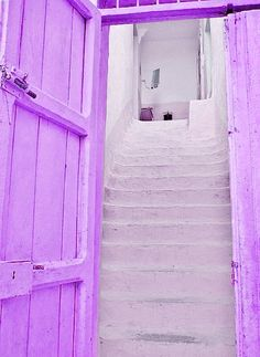 Shades of purple are a welcome home