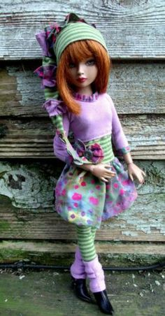 ELLOWYNE WILDE MSD DELILAH NOIR SWEET HARAJUKU KUWAII FASHION OUTFIT DRESS Ebay by tweedtweed