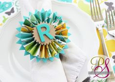 Rolled Paper Wreath | Positively Splendid {Crafts, Sewing, Recipes and Home Decor}