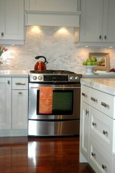 Trim above stove top