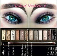 Urban decay naked palette 2. Trying this tomorrow! Wish me luck haha
