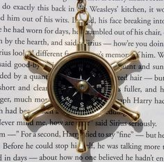 The Wicked Clothes shop has a new necklace in stock: presenting the Maritime Helm with Compass Necklace!