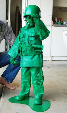 7 unique homemade Halloween costumes for kids | Guidecentral Blog diy costumes, soldier, diy halloween costumes, kid costumes, costume ideas, toys, homemade costumes, halloween diy, little boys