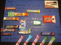 Happy Birthday Candy Card