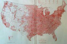 1940 US Census Map