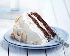 Chocolate and coffee meringue cake recipe food recipes, coffee cakes, meringu cake, cake recipes, eat cake