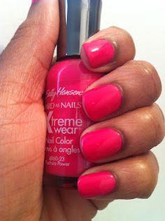 Sally Hansen Fuschia Power!! love sally Hansen im using the red one of these right now :)