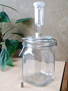 How to make home made fermentation jars