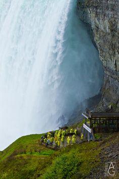Journey to Beneath Niagara Falls by Annette Gerard, via 500px niagara fall