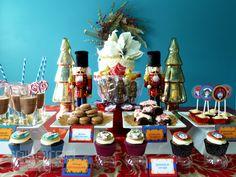 Christmas Nutcracker table