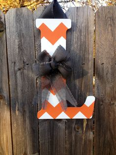 Monogram wreath for VOLS fans! #TN #vols #GBO #football