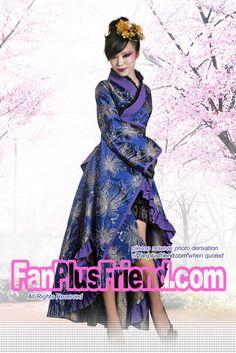 Aristocratic Wa Lolita Model