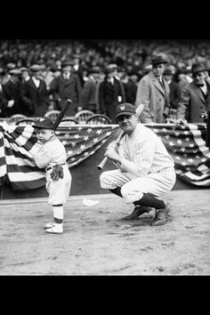 Babe Ruth  Via Vintage Pictures