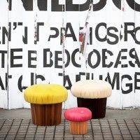 Playful Muffin Pouffe by Matteo Bianchi