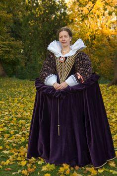 Tailor's - Catany, Dress of Marie de Medici, part 1