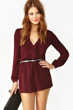 Perfect romper for fall