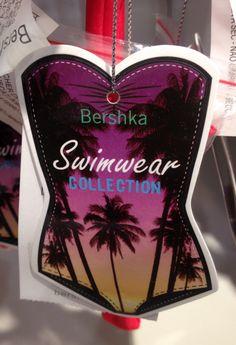 Bershka Swimwear #hangtag