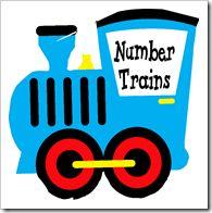 Number Trains ~ Free Printable