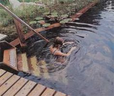 How to build a natural swimming pool.