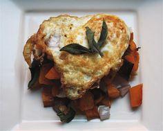 Fried Egg and Butternut Squash Tartine