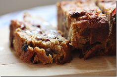 Almond and Chickpea Breakfast Bread with Dried Fruits