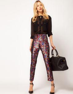 ASOS Premium Floral Pants