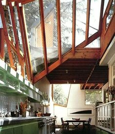 Frank Gehry's House Interior