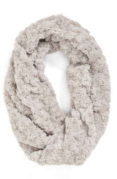 So soft and warm. Love this faux fur infinity scarf.