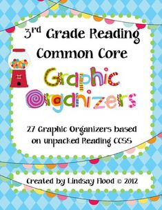 3rd Grade Reading Common Core Graphic Organizers