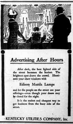 Advertising After Hours - Electricity Changed Everything.