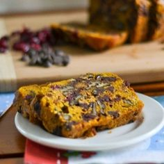 Pumpkin Bread with Dark Chocolate and Walnuts