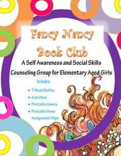 The following is an outline for a 7 week small counseling empowerment group for girls in 1st-4th grade. The focus of the group is to empower the girls through a collection of books and activities. The participants should build confidence, self-awareness, and communication skills over the seven week span.