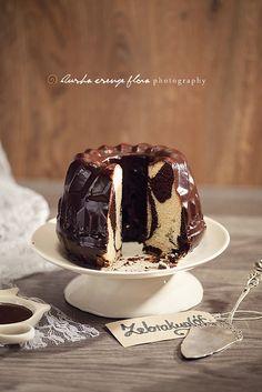 Zebra Bundt Cake. #food #cake #dessert