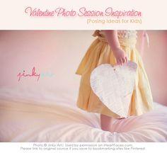 Valentine Photo Inspiration and Posing Ideas for Children via iHeartFaces.com