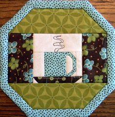 Cute...mug rug or placemat