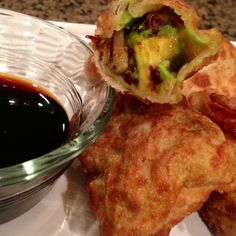 Prepare yourself for a delicious treat with this fast and easy recipe for Avocado Egg Rolls!