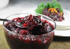 Cabernet Cranberry Sauce ... the best cranberry sauce EVER.  Seriously. www.thekitchenismyplayground.com