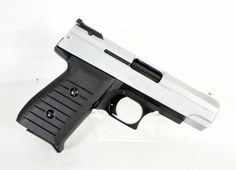 Jimenez Arms J.A. Nine Satin Chrome 9mm *NIB*. This 9mm DAO handgun from Jimenez features an adjustable rear sight, high visibility red dot front sight, and loaded chamber indicator. Made in the U.S.A. 30 oz. $199.00