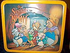 Metal Lunchbox The Secret of Nimh