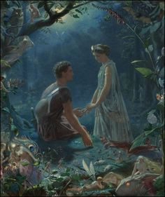 John Simmons ~ Hermia and Lysander ~ A Midsummer Night's Dream