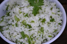 Chipotle Cilantro Lime Rice, 3 weight watchers points plus, 134 calories