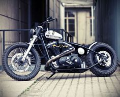 Garage Project Motorcycles - There is a lot to like about this custom sporty...