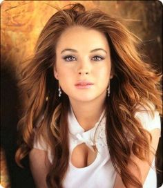 Linsay Lohan when she was healthy