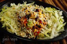 Gina's skinny recipes burrito bowl