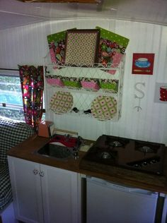 """Chitty Chitty Bang Bang"" camper rehab...Kitchen"
